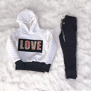Conjunto Love infantil