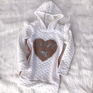 Vestido Love Star infantil