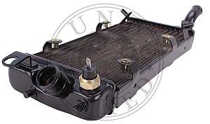 Radiador Agua Honda VT Shadow 600 Com Sensor De Temperatura
