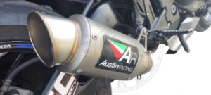 Escape Austin Racing Honda Cbr 1000 Rr 2008/2013 Inox