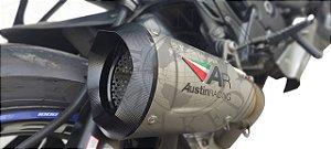 Escape Ponteira Austin Racing Honda Cbr 1000 Rr 2008/2013