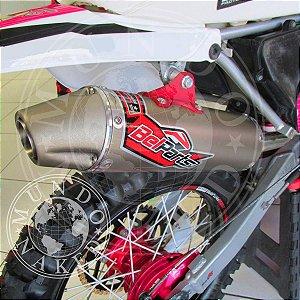 Escape Belparts Classic Yamaha XTZ 250 Lander 2015/2019 Completo Com Curva Bomber