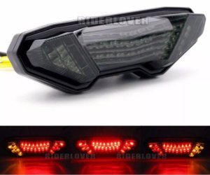 Lanterna Led Alto Brilho Com Piscas Integrados Yamaha Mt 09