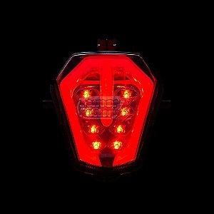 Lanterna Em Led Integrada Com Pisca Suzuki GSX-R SRAD 1000 2017|2021