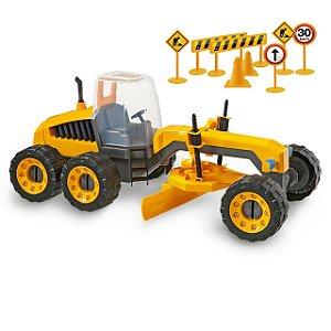Trator Master Construction Machine 5x130-305 Usual Brinquedo