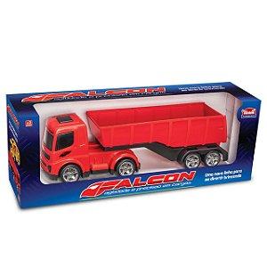 Caminhão Carreta Basculante De Brinquedo - Linha Falcon