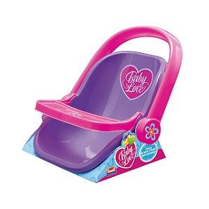 Bebê Conforto Baby Love Base Colorido Usual Plastic Brinquedos