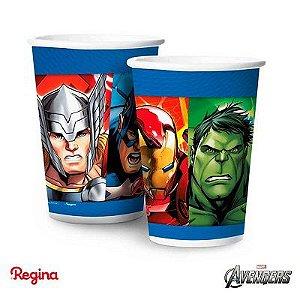 Copo Papel Avengers 8 Unidades
