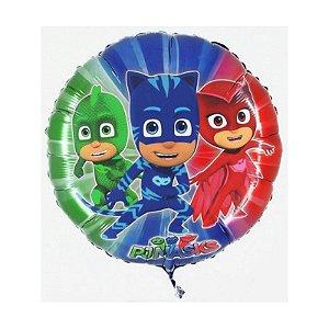 Balão Metalizado Pequeno PJ Masks