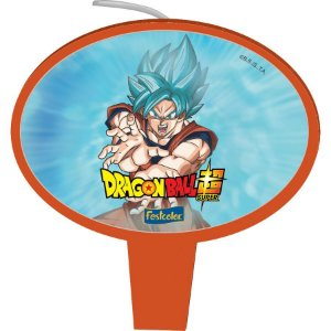 Vela Plana Dragon Ball Festcolor - 1 Unidade