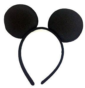 Tiara Mickey Veludo 1 Unidade
