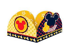 Porta Forminha Mickey 50 Unidades