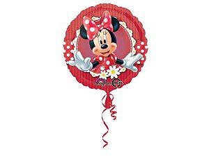 Balão Metalizado Minnie Vermelha