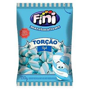 Marshmallows Torção Azul Fini 250g