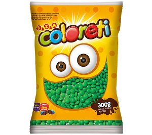 Mini Coloreti Verde Jazam 300g