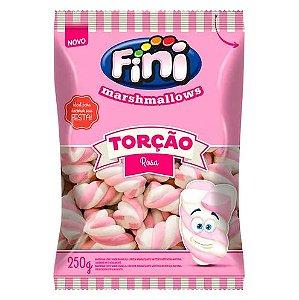 Marshmallows Torção Rosa Fini 250g