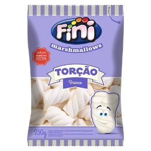 Marshmallows Torção Branco Fini 250g
