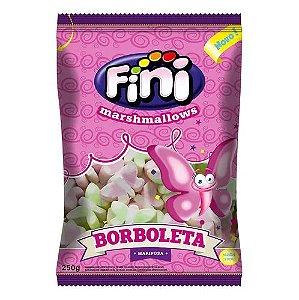 Marshmallows Borboleta Colorido Fini 250g