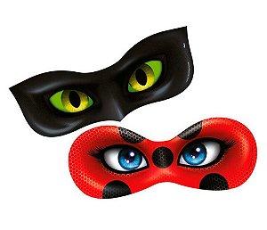 Máscara Miraculous Ladybug 6 Unidades