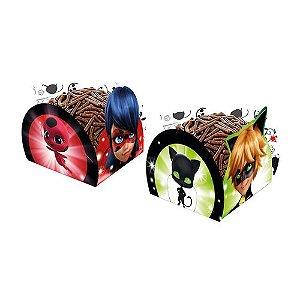 Porta Forminha Miraculous Ladybug 50 Unidades