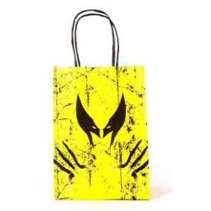 Sacola de Papel Wolverine Garras 18x09x22 cm