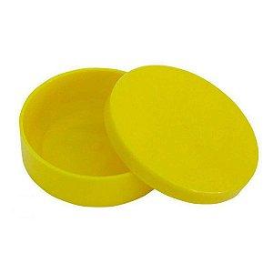 Latinha Plástica Amarela 10 Unidades