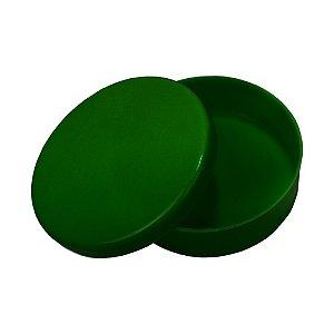 Latinha Plástica Verde Escuro 10 Unidades