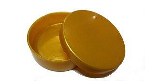 Latinha Plástica Dourada 10 Unidades