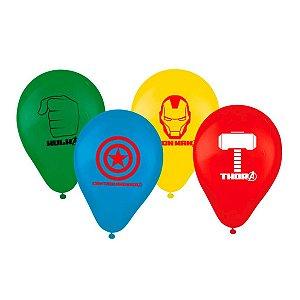 Balão Tema Vingadores 25 Unidades