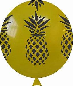 Balão Tema Abacaxi 25 Unidades