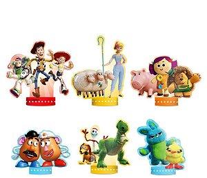 Decoração de Mesa Toy Story 4 6 Unidades