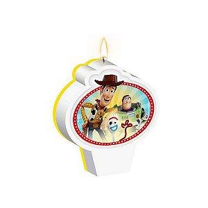 Vela Plana Toy Story 4 Regina - 1 Unidade