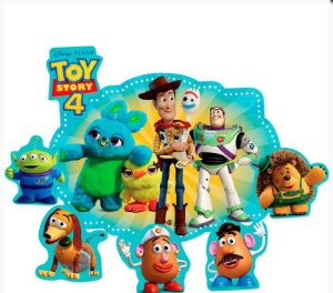 Kit Decorativo Toy Story 4