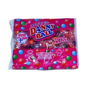 Danny Ball Chicle Tutti-Frutti 100 Unidades