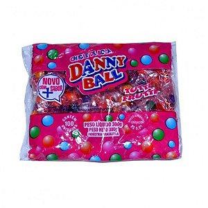 Danny Ball Chicle Tutti-Frutti 100 Unidades