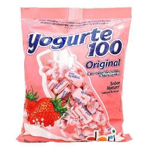 Bala Yogurte 100 Dori Morango 600g