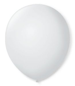 Balão SR Nº7 Branco Polar 50 Unidades