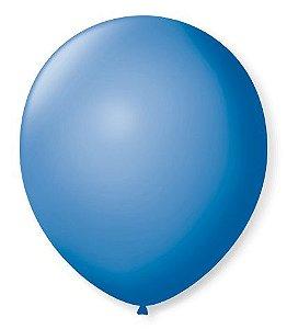 Balão SR Nº7 Azul Turquesa 50 Unidades