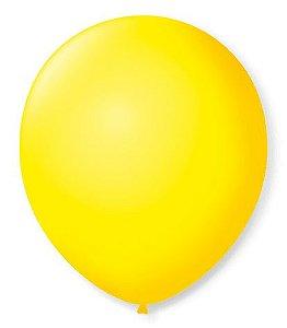 Balão SR Nº7 Amarelo Citrino 50 Unidades