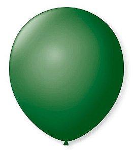 Balão SR Nº7 Verde Folha 50 Unidades