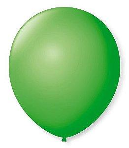 Balão SR Nº7 Verde Maçã 50 Unidades