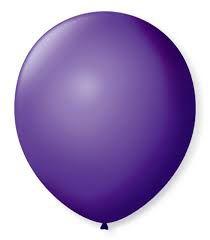 Balão SR Nº7 Roxo Uva 50 Unidades