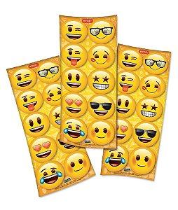 Adesivo Decorativo Redondo Emoji - 30 Unidades