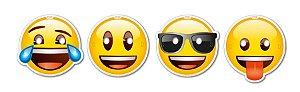 Máscara Emoji 8 Unidades