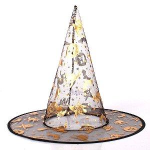 Chapéu de Bruxa Tule
