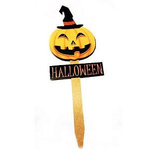 Placa de Jardim Halloween Led