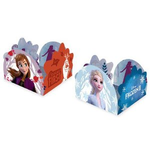 Porta Forminha Frozen 2 Regina - 50 Unidades