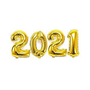 KIT BALAO 2021 DOURADO 70CM