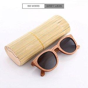 7b93a52a2 Kithdia new 100% real zebra artesanal de bambu de madeira óculos  polarizados dos homens óculos