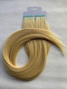 Mega hair fita adesiva #22 - 20 fitas - 50cm cabelo humano